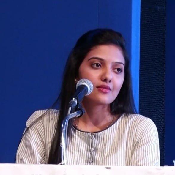 srushti jayant deshmukh speech