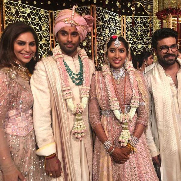 shriya bhupal wedding