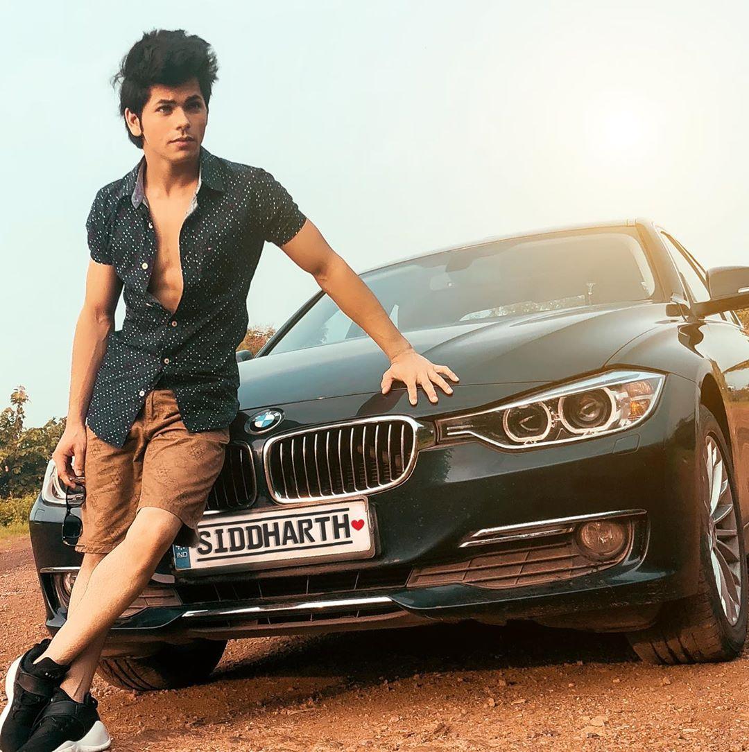 siddharth nigam bmw cars