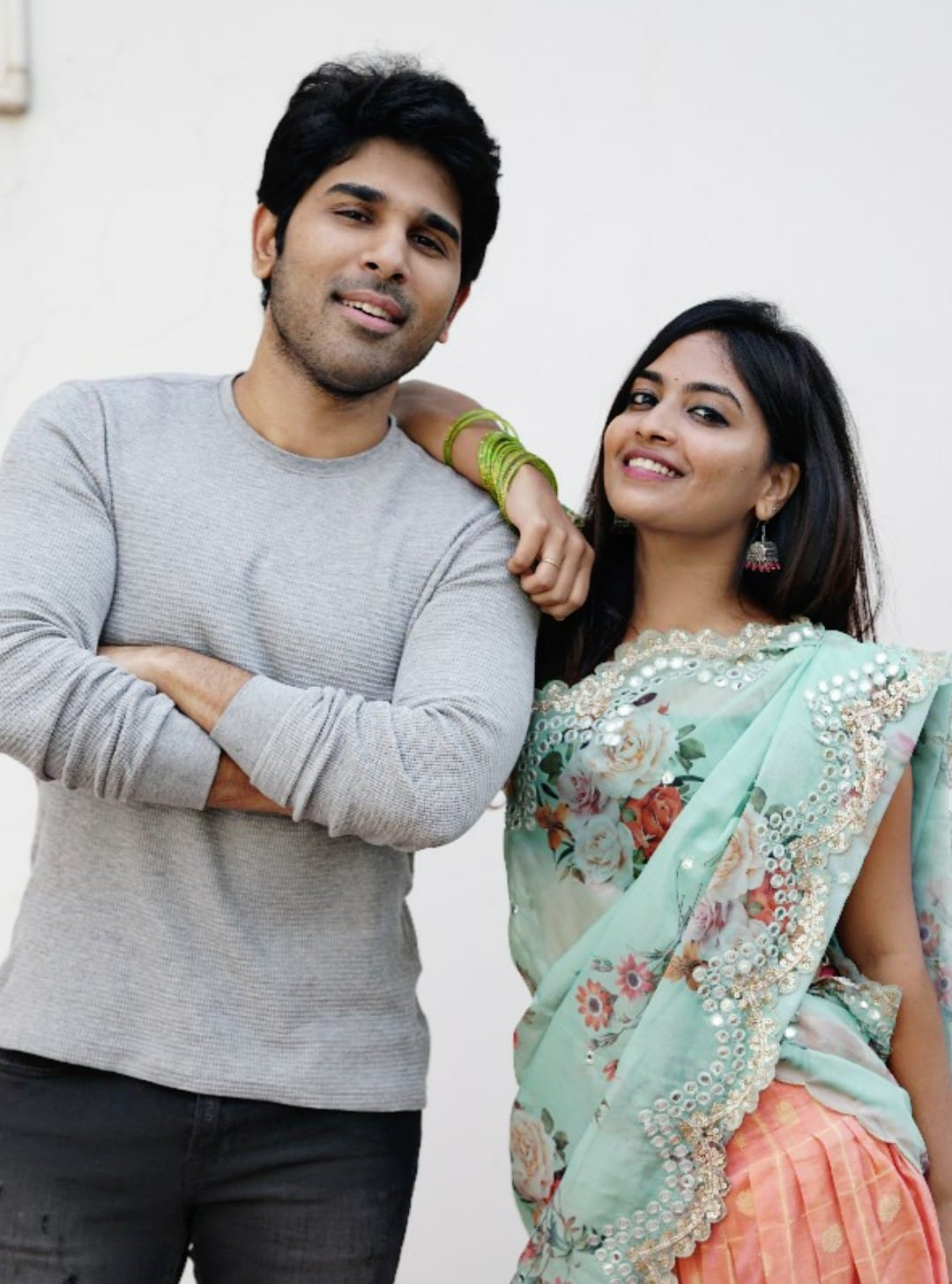 alekhya harika with allu sirish