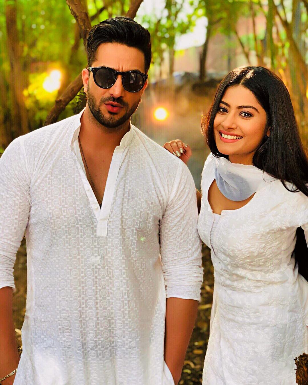 aly goni and krishna mukherjee
