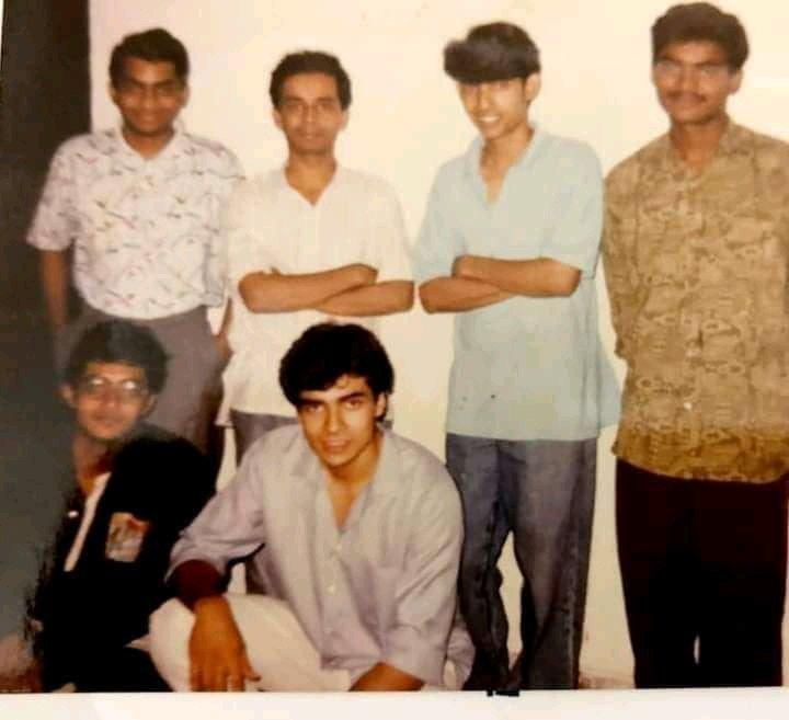 arnab goswami young childhood photos