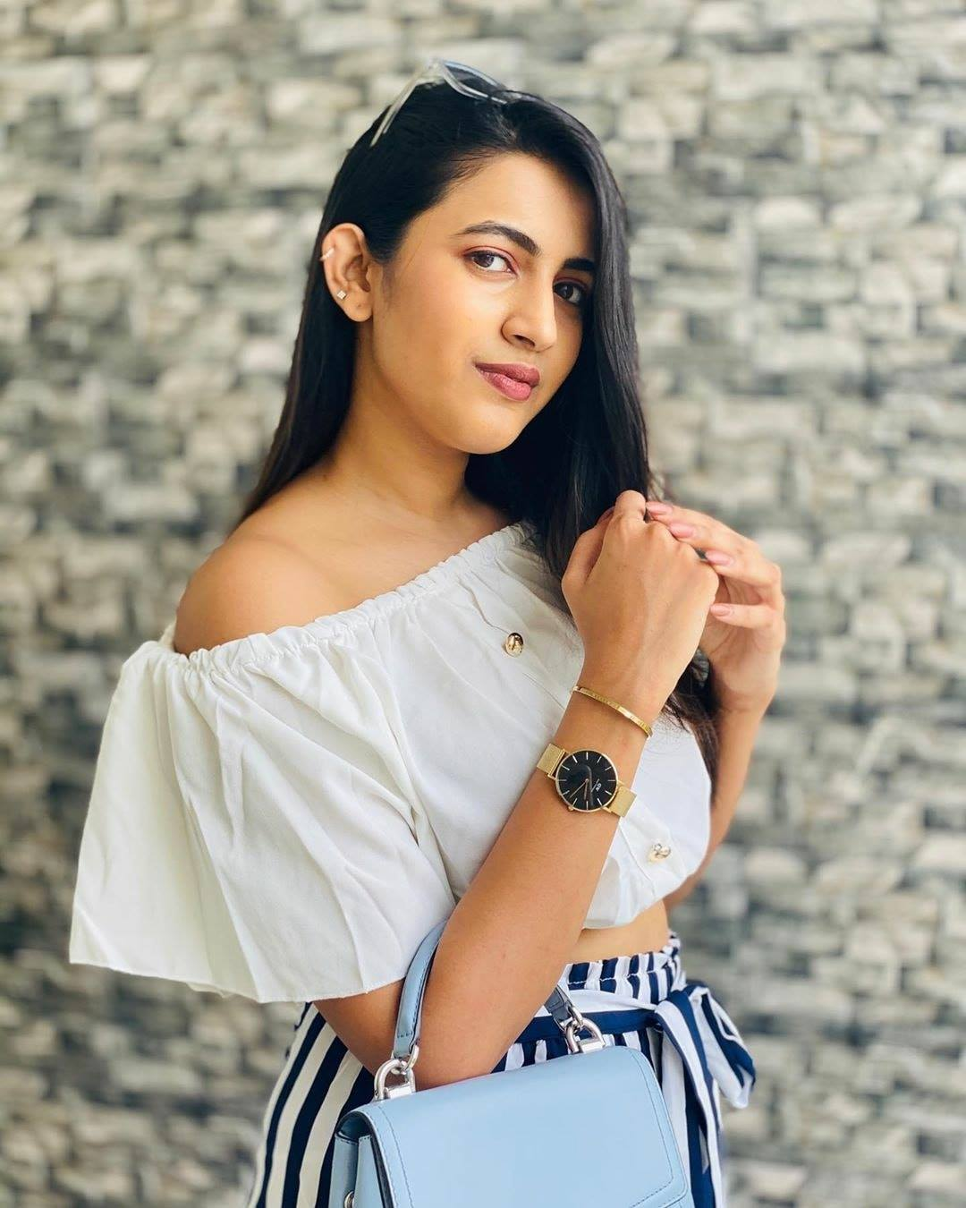 niharika konidela in promotion photoshoot of daniel wellington watches for women